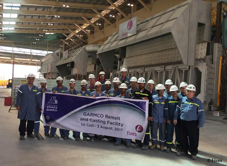 Fives Aluminium GARMCO Group Remelt Casting Facility-FIVES Fives Group
