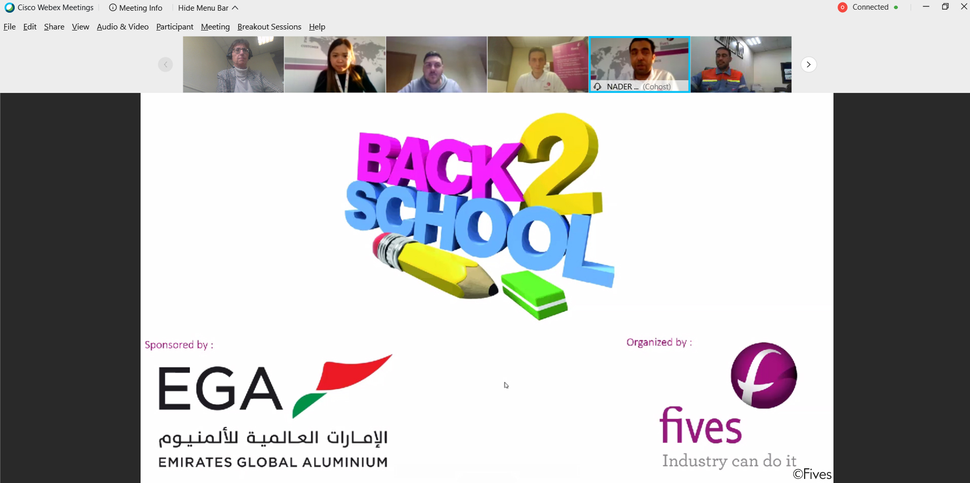 Back to School  Fives Aluminium 2020 with EGA  3  Copyright-FIVES